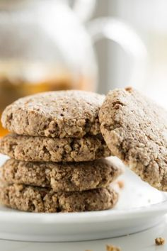 Easiest Almond Cookies by Ricki Heller by Oh She Glows