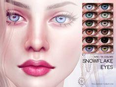 Snowflake Eyes - The Sims 4 Catalog Sims 4 Tsr, Sims Cc, Los Sims 4 Mods, Sims 4 Cc Folder, The Sims 4 Skin, Sims 4 Cc Eyes, Sims 4 Gameplay, Sims 4 Cc Makeup, Sims4 Clothes
