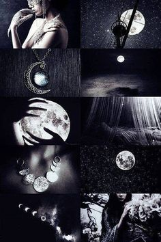 """ Greek mythology meme: titans ↳ Selene "" Selene was the titan goddess and the divine personification of the Moon. She was a daughter of Hyperion, the titan of light, and the sister of Eos and. Wiccan, Magick, Witchcraft, Foto Fantasy, Fantasy Kunst, Witch Aesthetic, Aesthetic Collage, Arte Obscura, Photocollage"