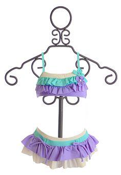 Isobella and Chloe Girls Bikini in Lilac Ruffles Cute Baby Girl Outfits, Toddler Girl Outfits, Kids Outfits, Girls Designer Clothes, Special Girl, High Waisted Bikini Bottoms, Summer Girls, Bikini Girls, Bikinis