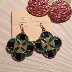 Stained Glass Style Earrings