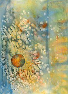 """Ethereal Dimensions"" watercolor By Lynda Hoffman-Snodgrass"
