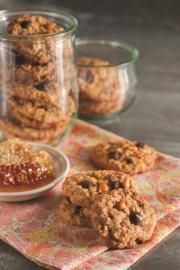 Chewy Honey Oatmeal Cookies |  National Honey Board
