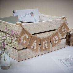 New wedding reception signs diy bridal shower Ideas Wooden Crates Wedding, Rustic Card Box Wedding, Wedding Boxes, Wedding Cards, Wedding Ideas, Card Holder Wedding, Trendy Wedding, Formal Wedding, Budget Wedding