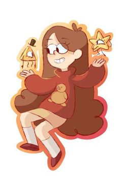 Gravity Falls — Mabill and...that guy...| Twitter