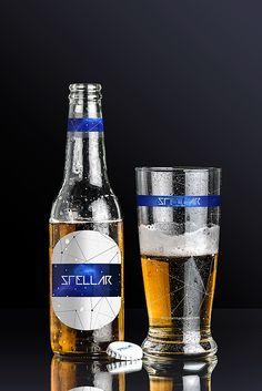 Original Mockups - Beer Bottle and Glass Mockup 01