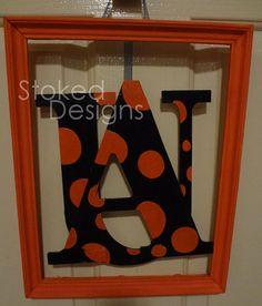 Auburn Tigers wall decor $30