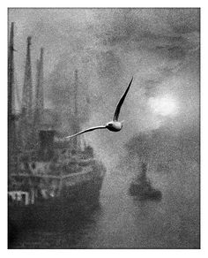 Bill Brandt, Early morning on the river (1930)