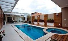 Resultado de imagem para piscinas modernas pequenas