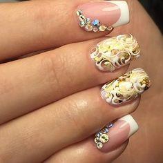 Instagram photo by @nail_master_russia via ink361.com #nailart #nails #naildesigns