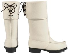 I need these for my winter wedding. Arctips: Finnish design wool felt boots.