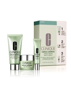 Redness Solutions Redness Regimen ($77.50 value) by Clinique at Neiman Marcus.