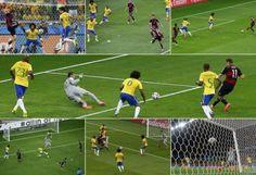 David Luiz está em todos os golos alemães!