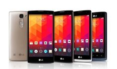 A host of new LG phones