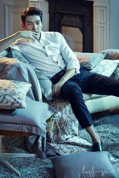 Kim Woo Bin Sleek and Stylish Starting Off 2015 in New Fashion Spread   A Koala's Playground