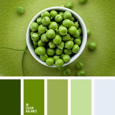 Calm tone pea bring the owner of the space health and peace of mind. This color palette is noble and if you decide to re-create it, it will bring you a lot of bright moments in your life. Tranquility and natural colors that will enhance any interior and diversifies the democratic view of the green.