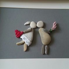 Novios stone art