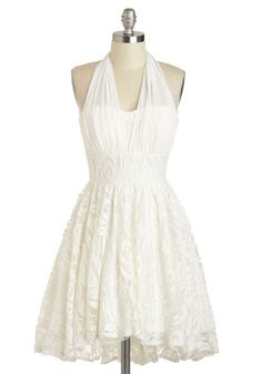 ModCloth I Do Declare! I would renew my vowels in this! Perfect for a beach vowel renewal.