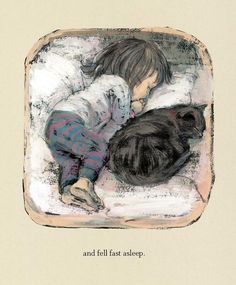I Feel So Safe and Secure laying next to one of my Best Friends. - Little G — (via Épinglé par Little G sur ChAtS | Pinterest)