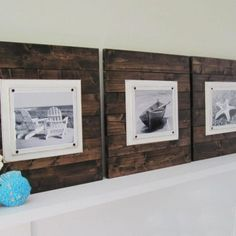 diy large plank sign - Google Search