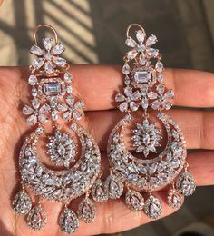 Pakistani Jewelry, Indian Wedding Jewelry, Indian Jewelry, Bridal Jewellery, Jewelry Design Earrings, Etsy Earrings, Women's Jewelry, Stone Jewelry, Hoop Earrings