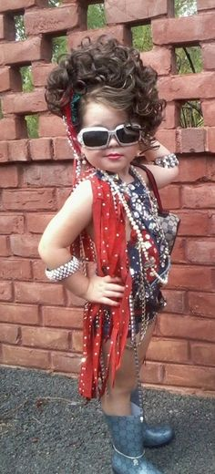 Mag  Little girls all love to play dress-up!  Even when they are big girls.