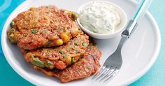 We've combined two family favourites - Mexican food and fritters - into one tasty combination.
