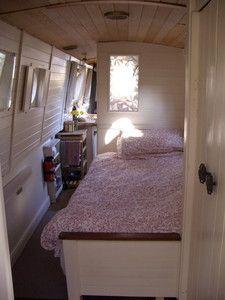Narrowboat Bedroom