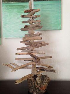 Handmade driftwood tree.