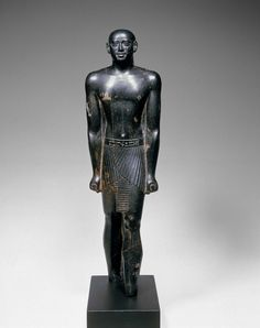 Statue of Khonsuiraa. Egyptian, Late Period, 25th Dynasty, 760-660 B.C.