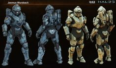 Spartan armor for Halo Kelly. I created the Hi-res, Game-res, and Textures for this character armor. The undersuit was created by Kolby Jukes. Halo 5, Group Art Projects, Cool Art Projects, Character Concept, Concept Art, Character Design, Main Character, Character Reference, Star Citizen