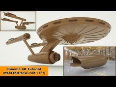 Wood Enterprise - Part 1 (Cinema 4D Tutorial) - YouTube