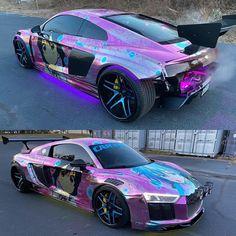 Audi R8, Pink Motorcycle, Classic Japanese Cars, Top Luxury Cars, Street Racing Cars, Car Goals, Drifting Cars, Japan Cars, Futuristic Cars