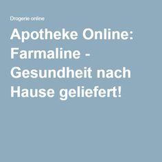 Apotheke Online: Farmaline - Gesundheit nach Hause geliefert!