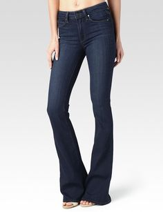 833f1bd1d5498 High Rise Bell Canyon - Cameron - PAIGE Petite Flare Jeans