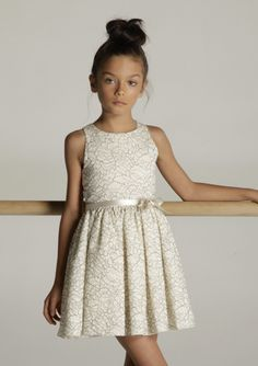 Casablanca Lace Dress.  Got somewhere to go ..slip this on, tie the bow and you're ready to go.