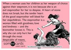 making it so that your children dislike their step mother is not beneficial to you or your children and is actually pretty stupid. Why would you want your children to be strangers in their step mothers house. Step Parents Quotes, Mom Quotes, Mother Quotes, True Quotes, Step Parenting, Parenting Quotes, Parenting Toddlers, Parenting Styles, Single Parenting
