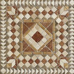 Mosaic Outdoor Flooring Textures Seamless