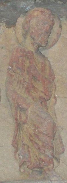 Anzy-Le Duc (Borgogna), timpano. Conservato al musèe du Hieron a Paray-Le Monial. XII secolo.