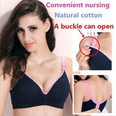 13323bbcfe2fe ZTOV New Breastfeeding cotton Maternity Nursing Bra sleep bras for nursing  pregnant women soutien gorge allaitement