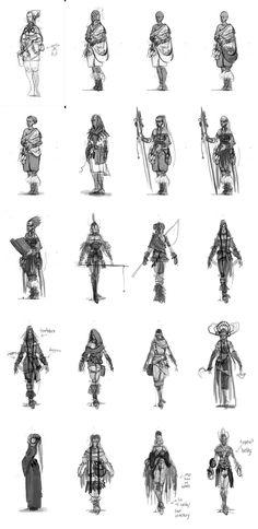 SEGA's Viking: Battle for Asgard (UPDATED APRIL 29) via cgpin.com Fantasy Concept Art, Fantasy Art, Viking Battle, Character Art, Character Design, Sketch Free, High Fantasy, Creature Design, Line Drawing
