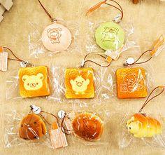 Bread Squishy, Cute Squishies, Rilakkuma, Aesthetic Makeup, Pusheen, Bakery, Kawaii, Charmed, Japan