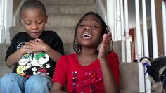 Asia Powell singing Tasha Cobbs smile w/ Jordan Miming