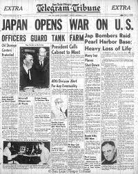 Pearl Harbor Attack, Japan opens war on U. World War II week by week Pearl Harbor Day, Pearl Harbor Attack, World History, World War Ii, Day Of Infamy, Newspaper Headlines, Newspaper Wall, Sneak Attack, American War