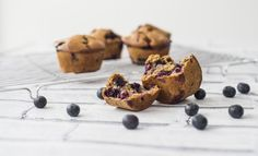 Clean eating blueberry muffins they are literally a chuck it all in recipe, pour batter in the muffin cases, bake and devour #cleaneating #vegan #vegetarian #healthy