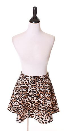 Out On The Prowl Skirt