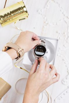 There's a Fossil Q touchscreen smartwatch for everyone on your list. @abeautifulmess
