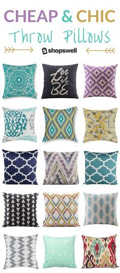 Want to pull off a designer styled look in your home on a budget? Here are 75+ of the best throw pillows and covers under $20. What are you waiting for? Get shopping!