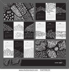 Výsledek obrázku pro original calendar design