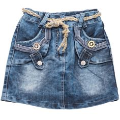 Missa παιδική εποχιακή φούστα τζιν «Anchor» Κωδικός: 18155  €14,90 (-32%) Girls Denim Shirt, Girls Pants, Denim Skirt, Denim Jeans, Man Skirt, Short Girls, Victorian Fashion, Skirt Fashion, Chambray